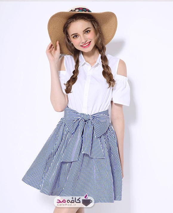 مدل لباس کوتاه زنانه Candy Cart