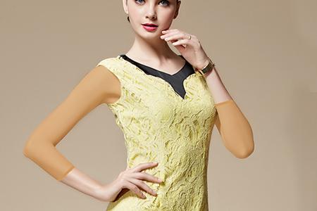 مدل لباس مجلسی با دانتلStylewoman 2