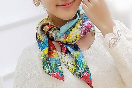 مدل دستمال گردن زنانه  9
