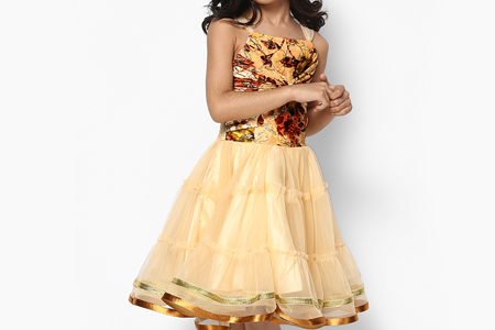 مدل لباس مهمانی دخترانه  10