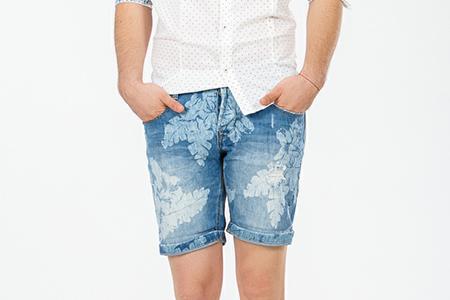مدل شلوارک جین مردانه 10