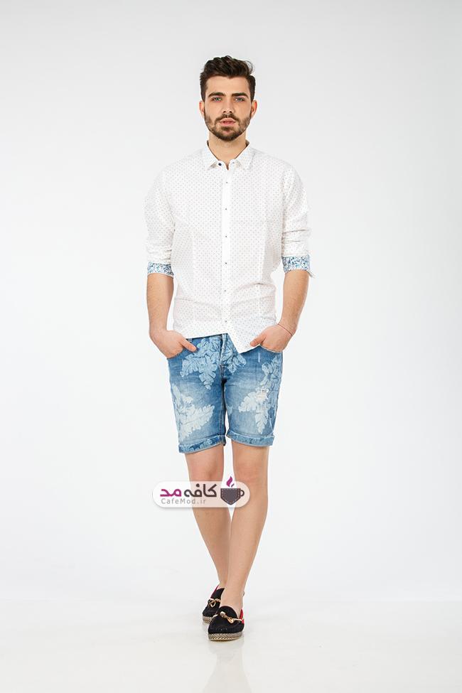 مدل شلوارک جین مردانه