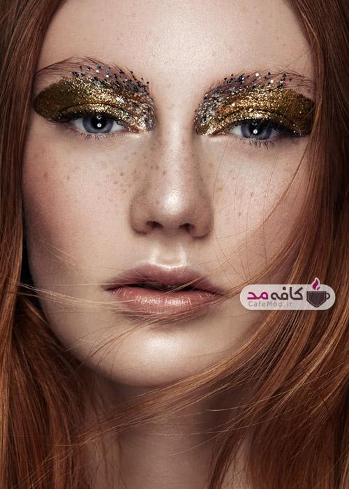 مدل های آرایشی 2015