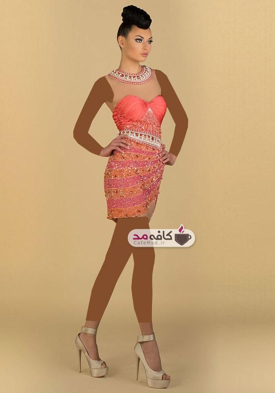 مدل جدید لباس مجلسی زنانه
