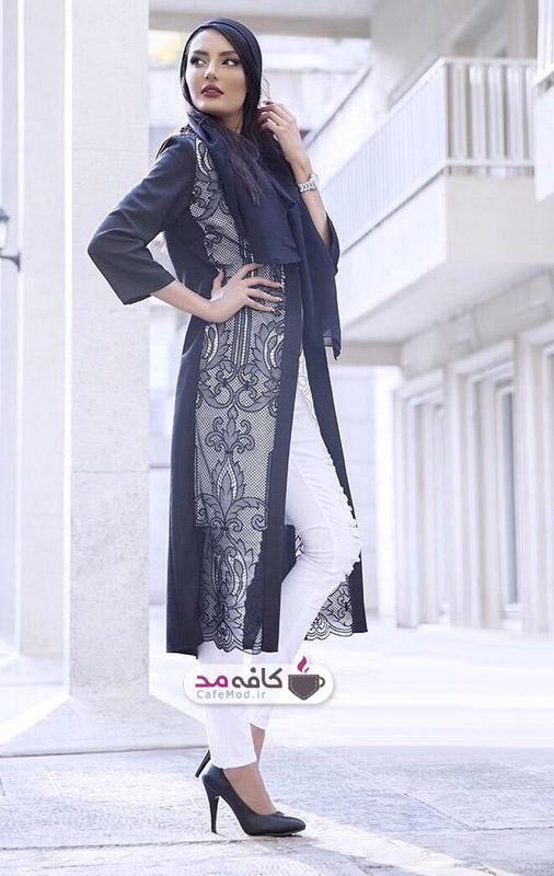 مدل مانتو Aida Rahimi