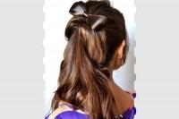 آموزش آرایش موی پاپیونی