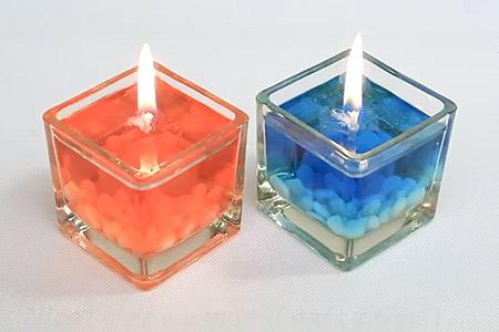مدل شمع روغنی