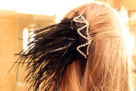 آموزش تزئین شانه با مو