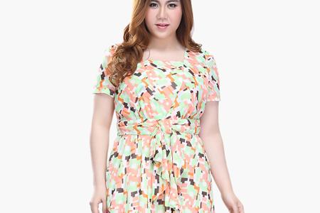 مدل لباس زنانه سایز بزرگ 2