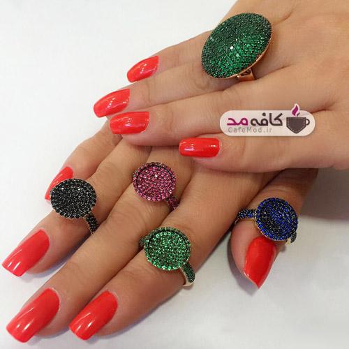 مدل انگشترهای جدید