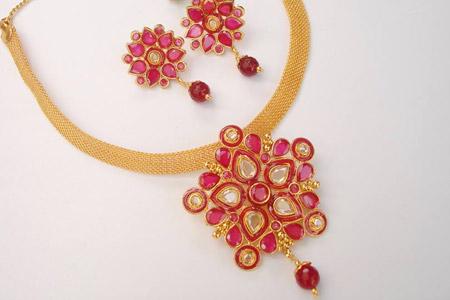 مدل طلا و جواهرات هندی  13