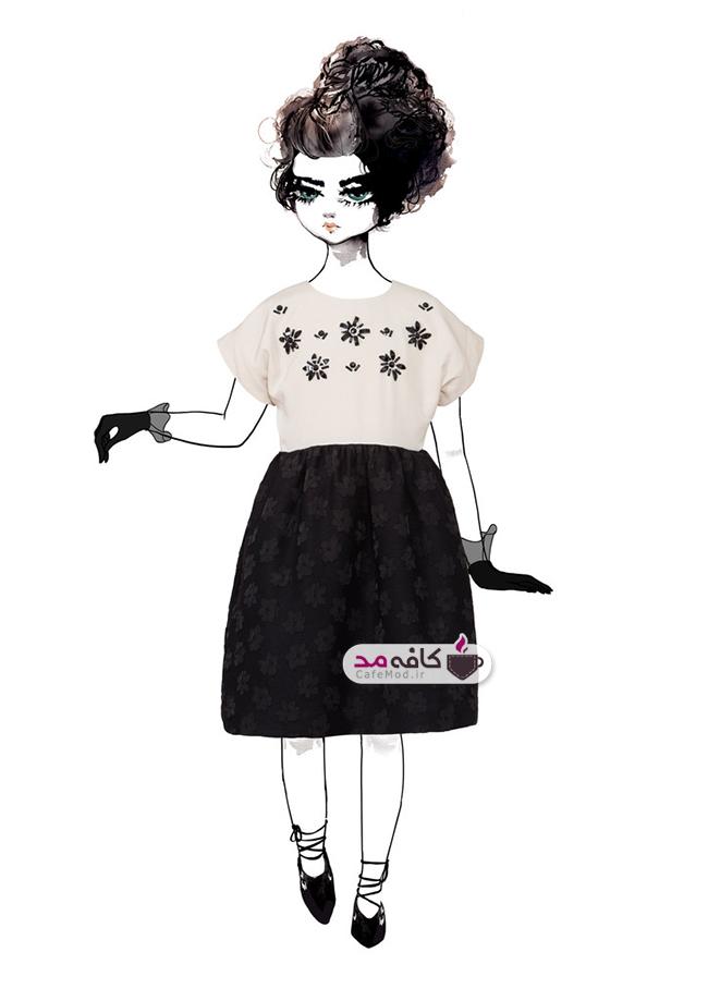 مدل لباس دخترانه مجلسی