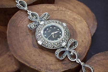 مدل ساعت نقره زنانه 9