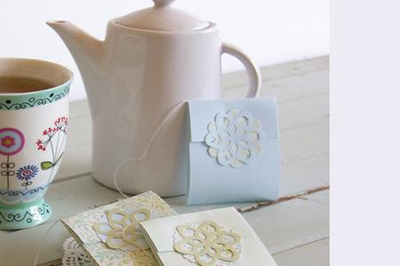 آموزش جعبه چای کیسه ای