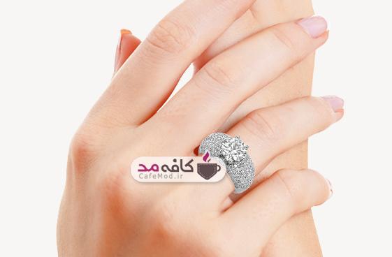 مدل انگشتر زنانه Ziva