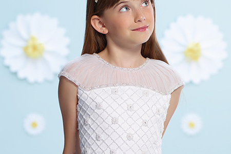 مدل لباس عروس دخترانه 20