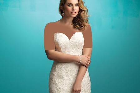 مدل لباس عروس سایز بزرگ  2