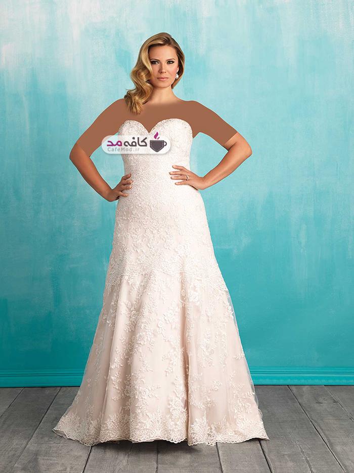 مدل لباس عروس سایز بزرگ Allure