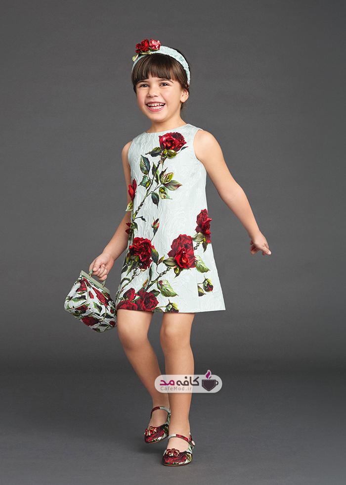 مدل لباس دخترانه DOLCE&GABBANA