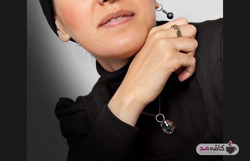 مدل جواهرات برند ایرانی Zamos