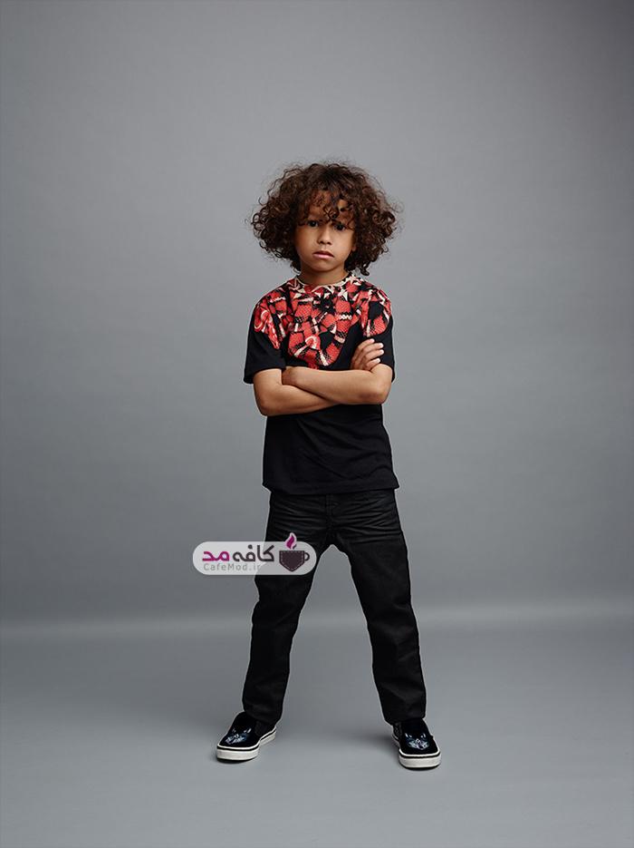 مدل لباس بچه گانه Marcelo Burlon