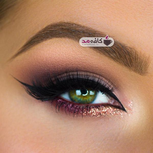 مدل آرایشی چشم