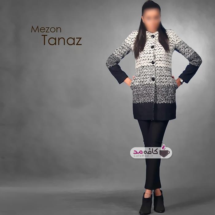 مدل مانتو برند ایرانی طناز مزون