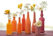 ایده گلدان های رنگی