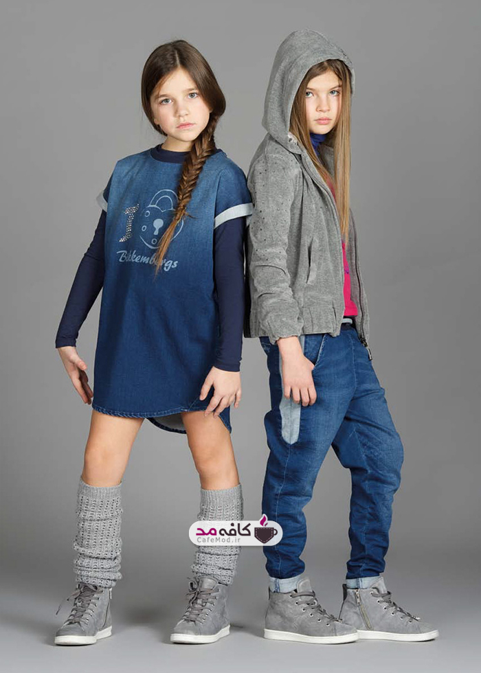 مدل لباس دخترانه Bikkembergs