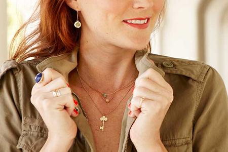 مدل جواهرات Ariel Gordon 10