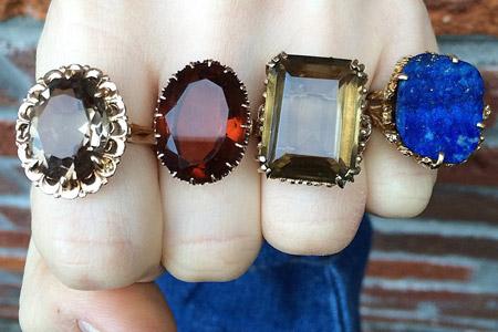 مدل انگشتر های جدید  13