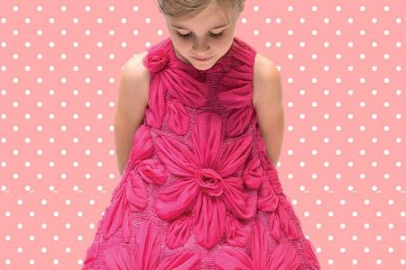 مدل لباس مجلسی بچگانه Pincopallino 10