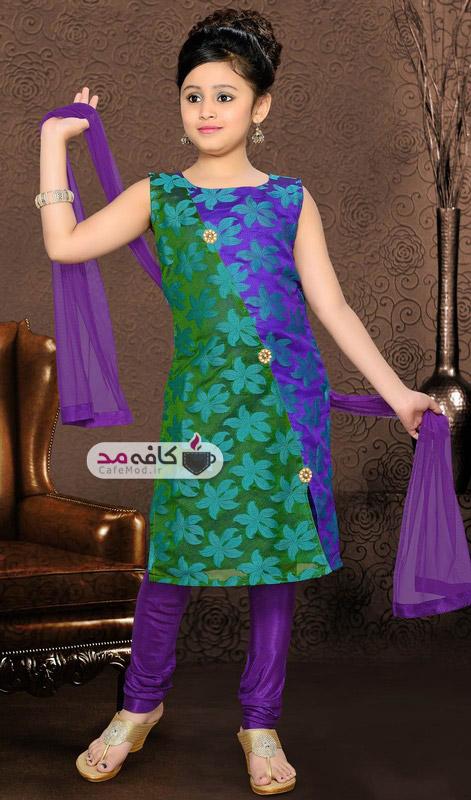 مدل لباس هندی دخترانه