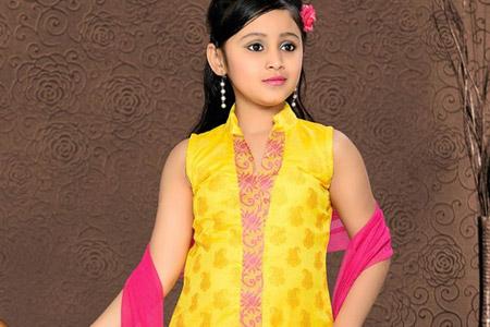 مدل لباس هندی دخترانه 9