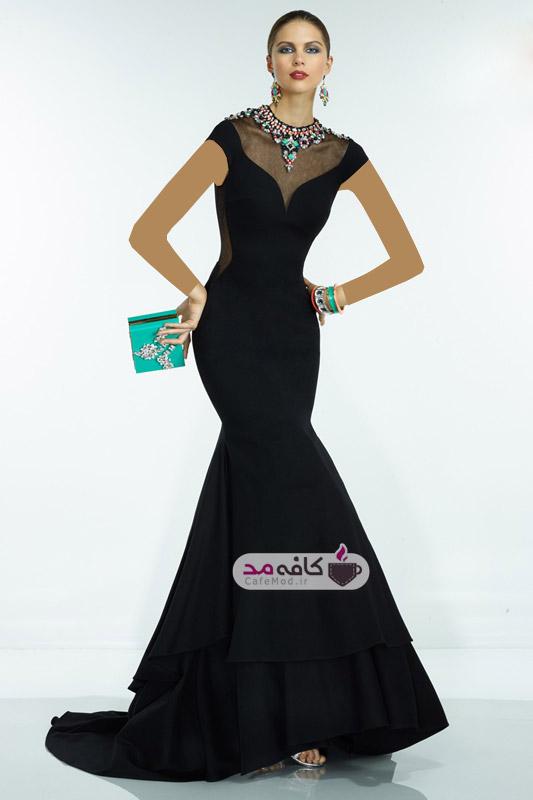 مدل لباس مجلسی مارک دار
