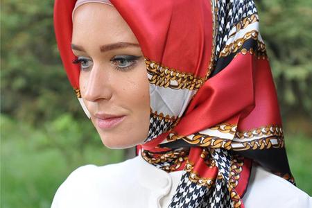مدل روسری ترک Armine 4