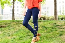 آموزش تزیین جوراب شلواری ساده