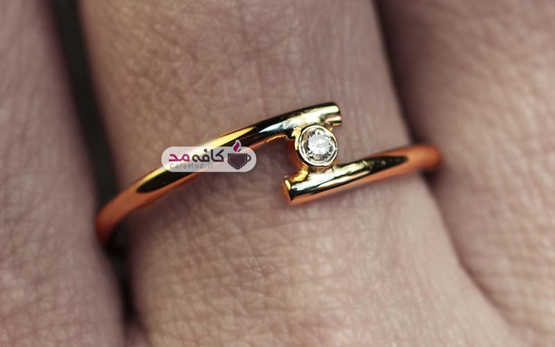 مدل حلقه طلا CM