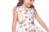 مدل لباس دخترانه Carinhosoroupas