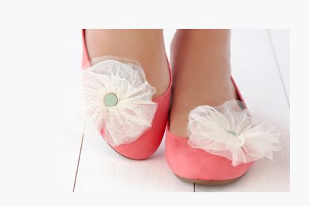 آموزش تزیین کفش ساده 2