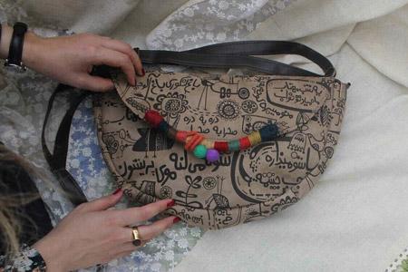 مدل کیف زنانه فرفره رنگی 6