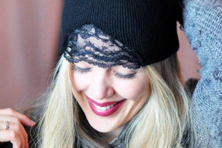 مدل کلاه توری زنانه 2
