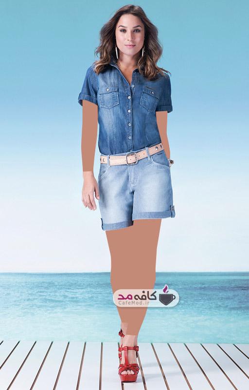 تلگرام شلوار کتان کافه مد | مدل لباس اسپرت زنانه BeeJeans