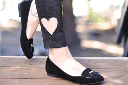 مدل شلوار قلبی زنانه 2