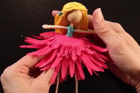 فیلم آموزش ساخت عروسک سیمی