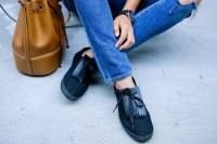 آموزش تزیین کفش ساده