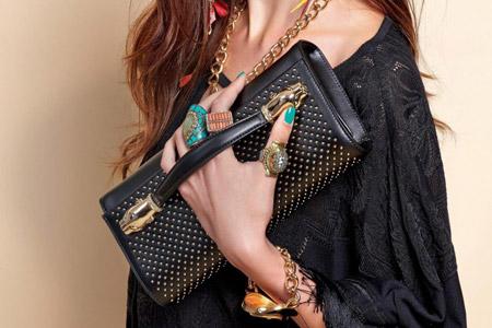 مدل کیف زنانه Roberto Cavalli
