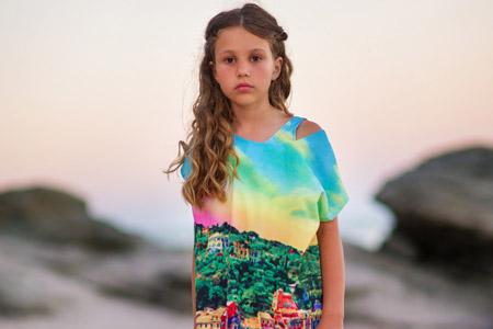 مدل لباس ساحلی بچگانه 10