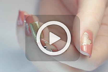 فیلم آموزش آرایش ناخن قلبی 2