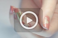 فیلم آموزش آرایش ناخن قلبی